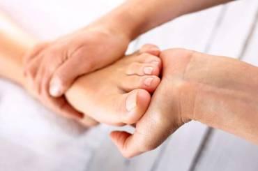 Fußreflex Massage